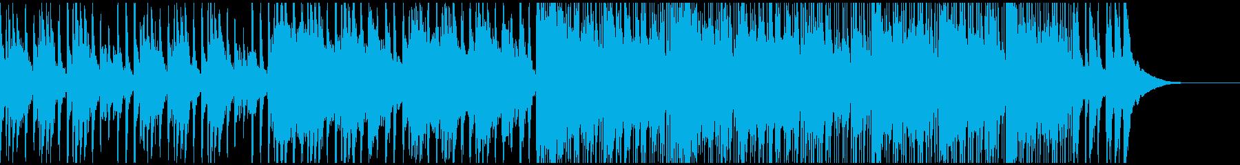 和楽器のみを使用したかっこいいBGMの再生済みの波形