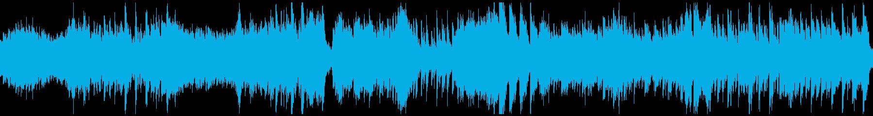 大正浪漫の華やかなタンゴ(ループ)の再生済みの波形