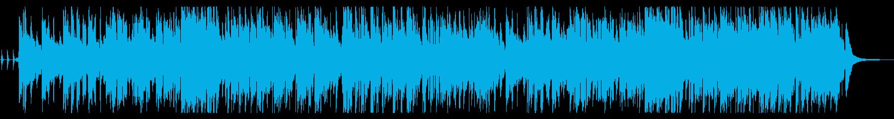 陽気なビッグバンドジャズ_ミュージカルの再生済みの波形