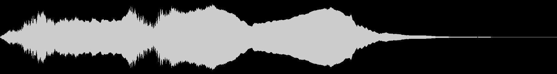 ホラ貝の効果音(合戦、和風の演出などに)の未再生の波形