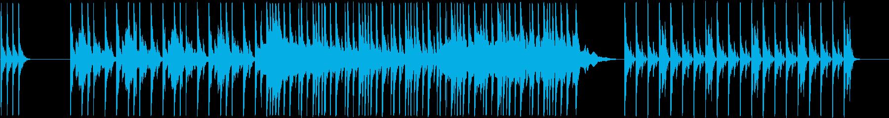 重大な事を知らせるダンスミュージックの再生済みの波形