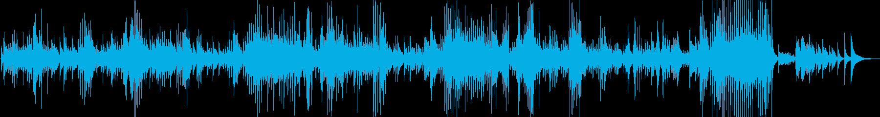 琴で美しく奏でる、ショパン:ノクターンの再生済みの波形