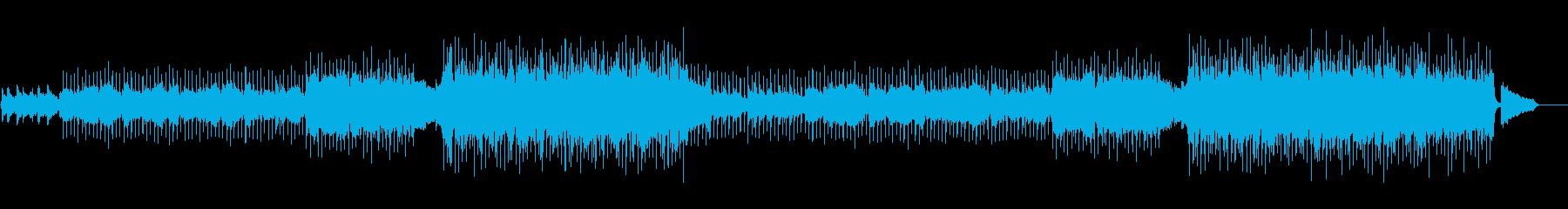 美しく前向きなフルート・ポップスの再生済みの波形