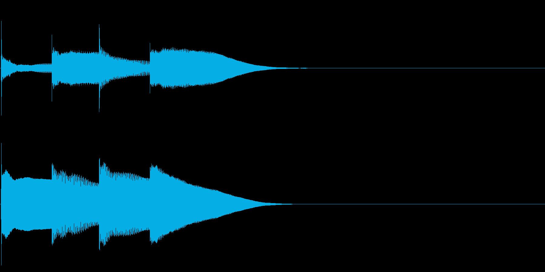 グロッケン系 決定音13(大)の再生済みの波形