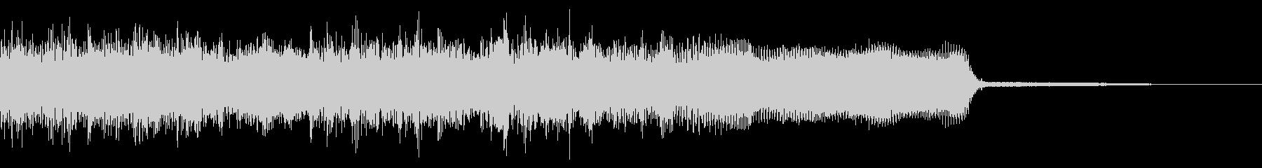 メタル系ジングル ネオクラシカル 切替の未再生の波形