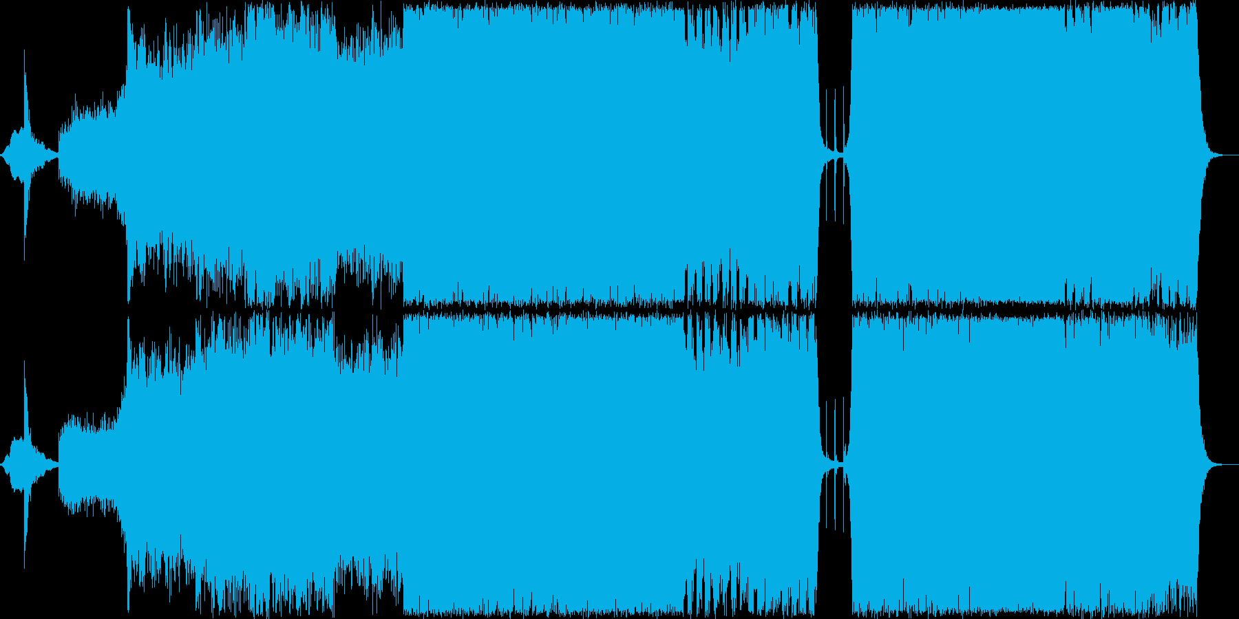 古代兵器をイメージした壮大なシネマ音楽の再生済みの波形