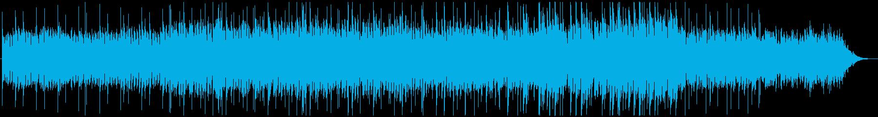 ゆったりとしたピアノヒーリングの再生済みの波形