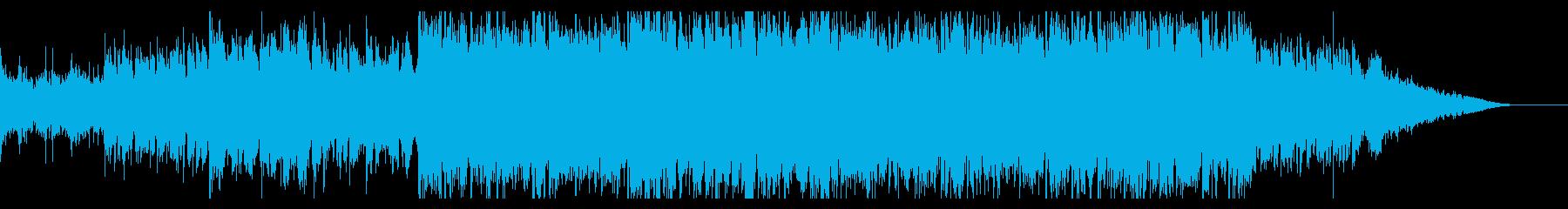 ダークでシネマティックなIDMの再生済みの波形
