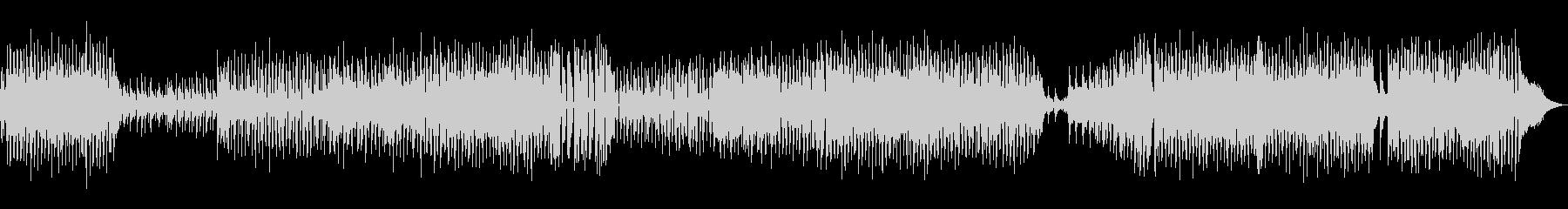 アコースティックバンド明るいポップBGMの未再生の波形