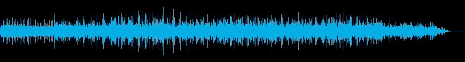 ビープ音の湿ったテクスチャIDMの再生済みの波形
