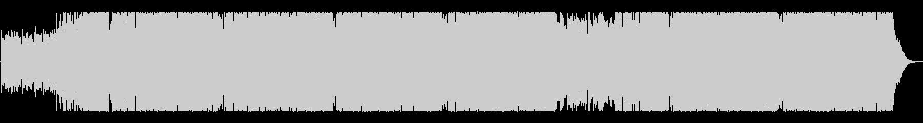 ノリノリ爽快ポップなアップビートEDMの未再生の波形