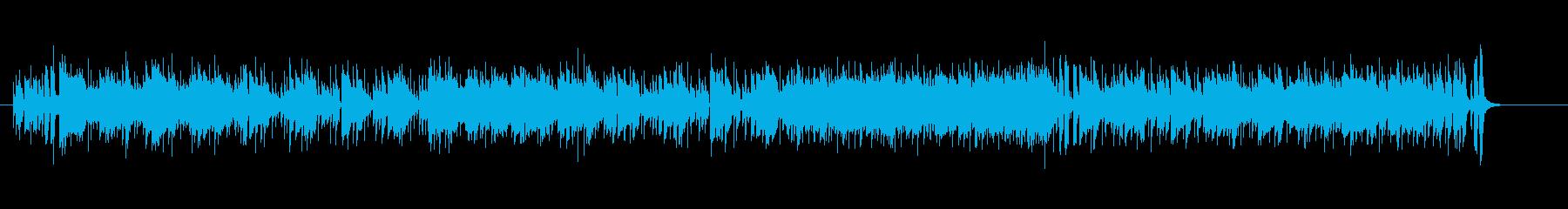 アップ・テンポなフュージョンの再生済みの波形