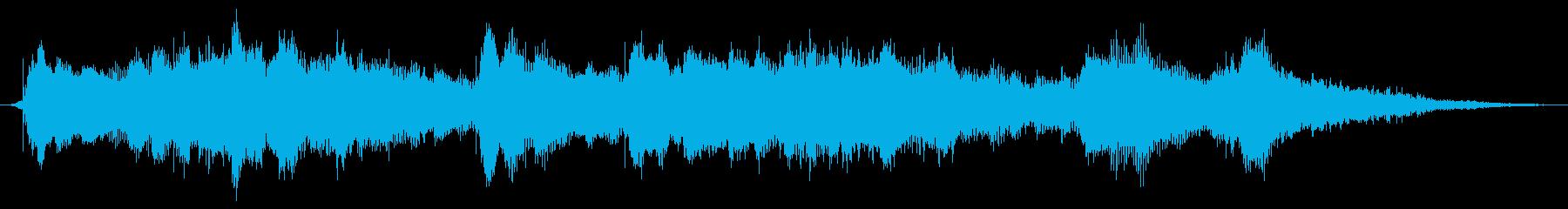 甘く切ない12秒ジングルですの再生済みの波形