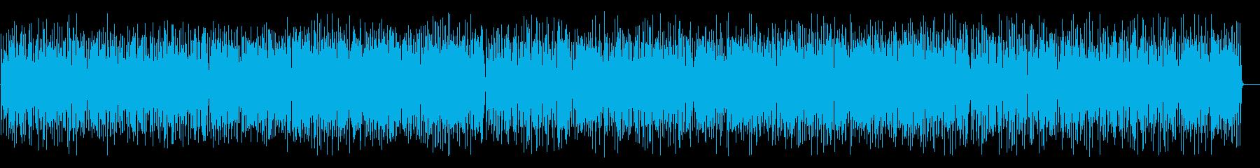 コミカルで楽しいジプシージャズ(Percの再生済みの波形