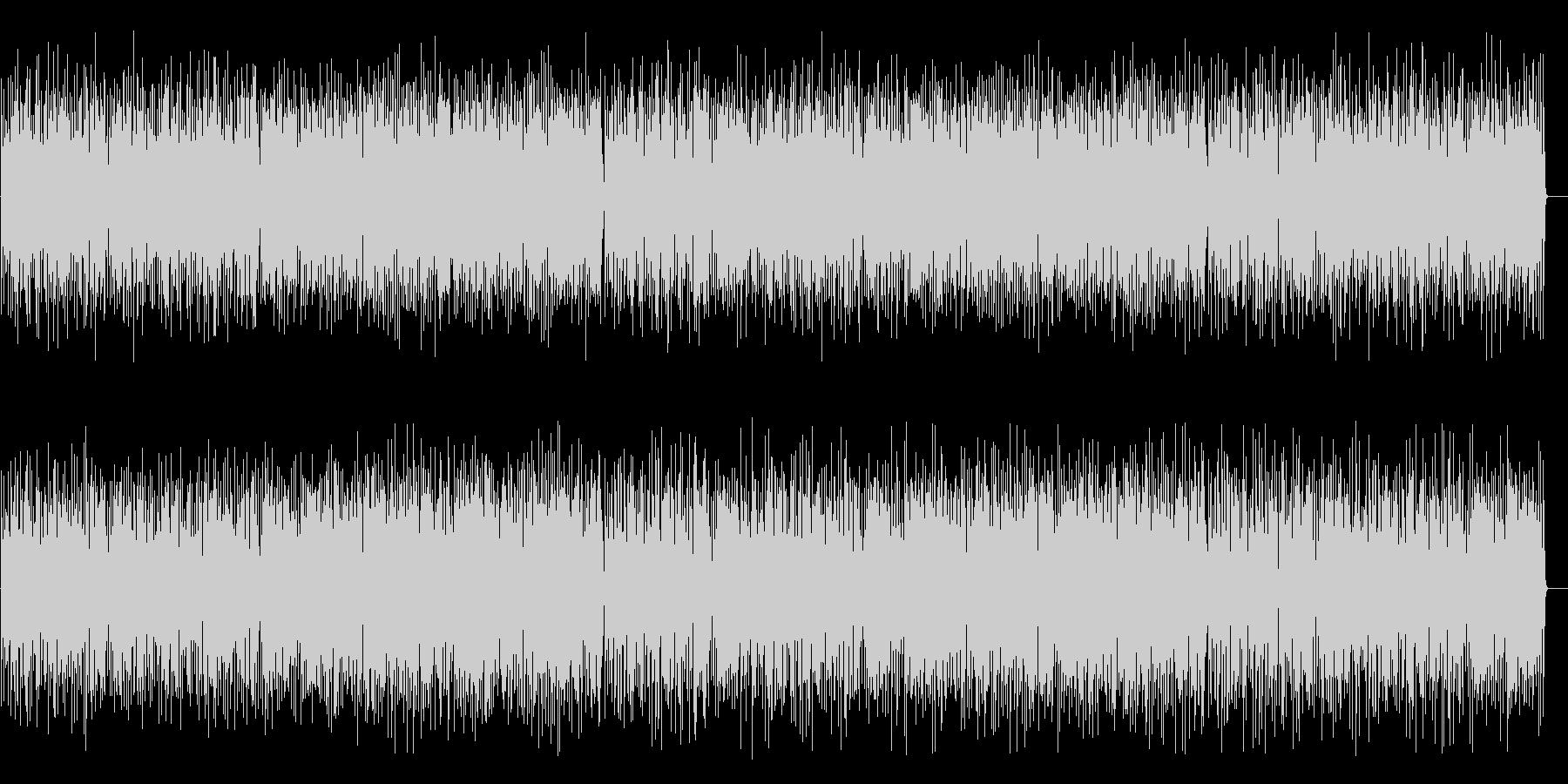 コミカルで楽しいジプシージャズ(Percの未再生の波形