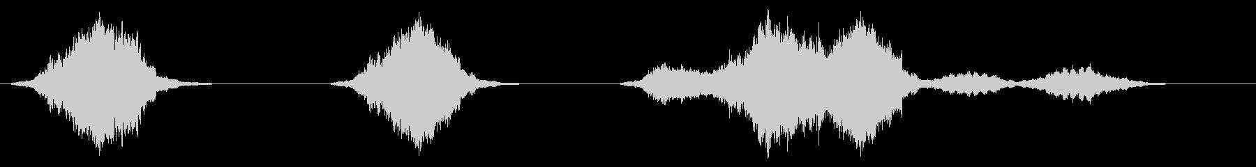 宇宙ビークルドライブバイスフューチャーの未再生の波形