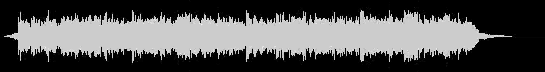 幻想的な映像、ピアノ、ポストクラシカル3の未再生の波形