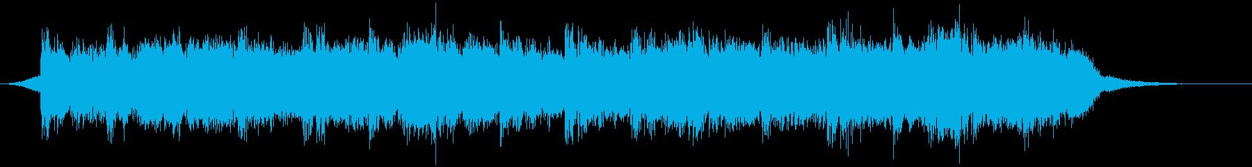 幻想的な映像、ピアノ、ポストクラシカル3の再生済みの波形