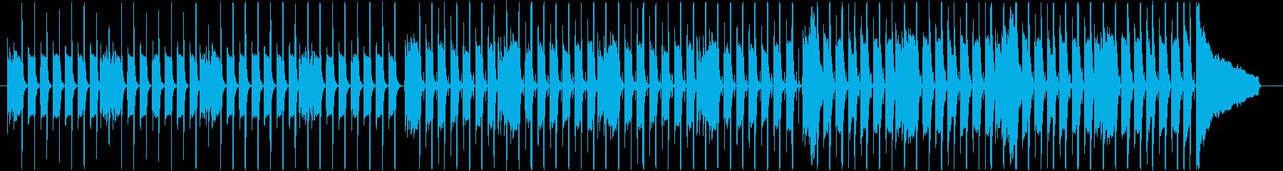 ウッドベース主導のシンプルで軽快な小曲の再生済みの波形