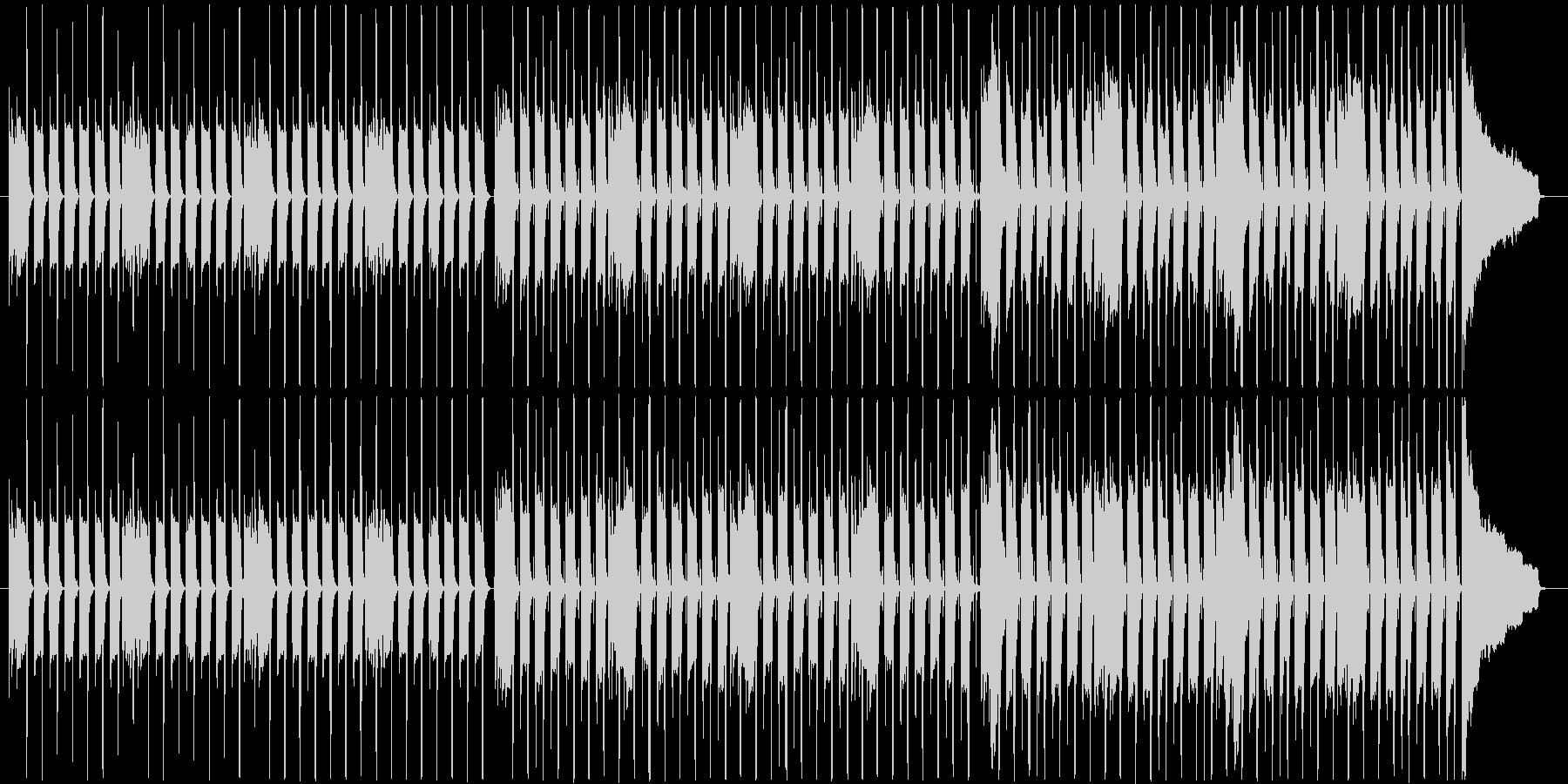 ウッドベース主導のシンプルで軽快な小曲の未再生の波形