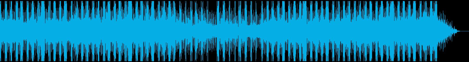 疑惑(疑い)・捜索のシリアスなシーンにの再生済みの波形