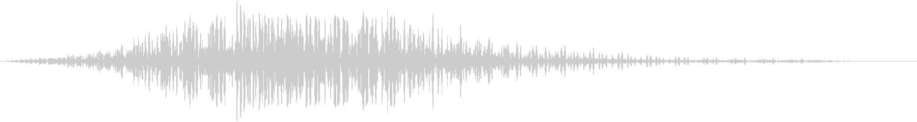 SF通過音02-04の未再生の波形