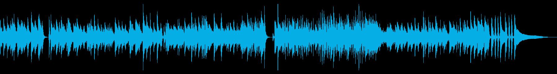 本格的ピアノジャズの再生済みの波形