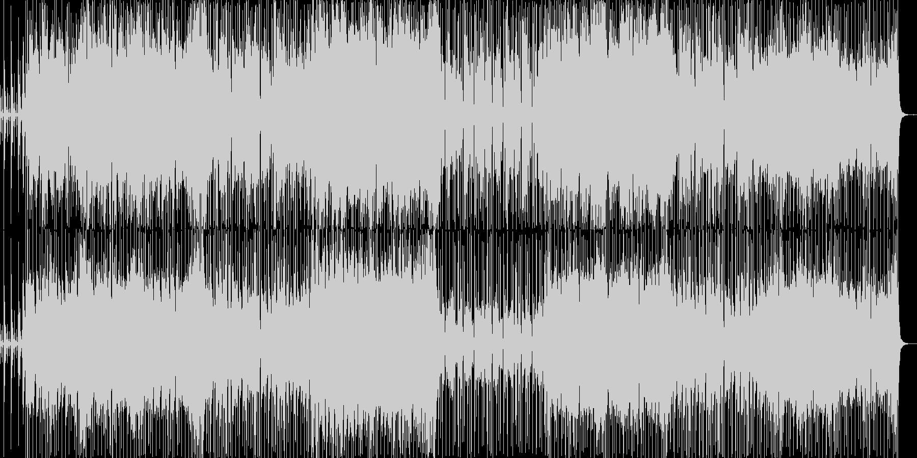 切なく不思議な感じのBGMの未再生の波形
