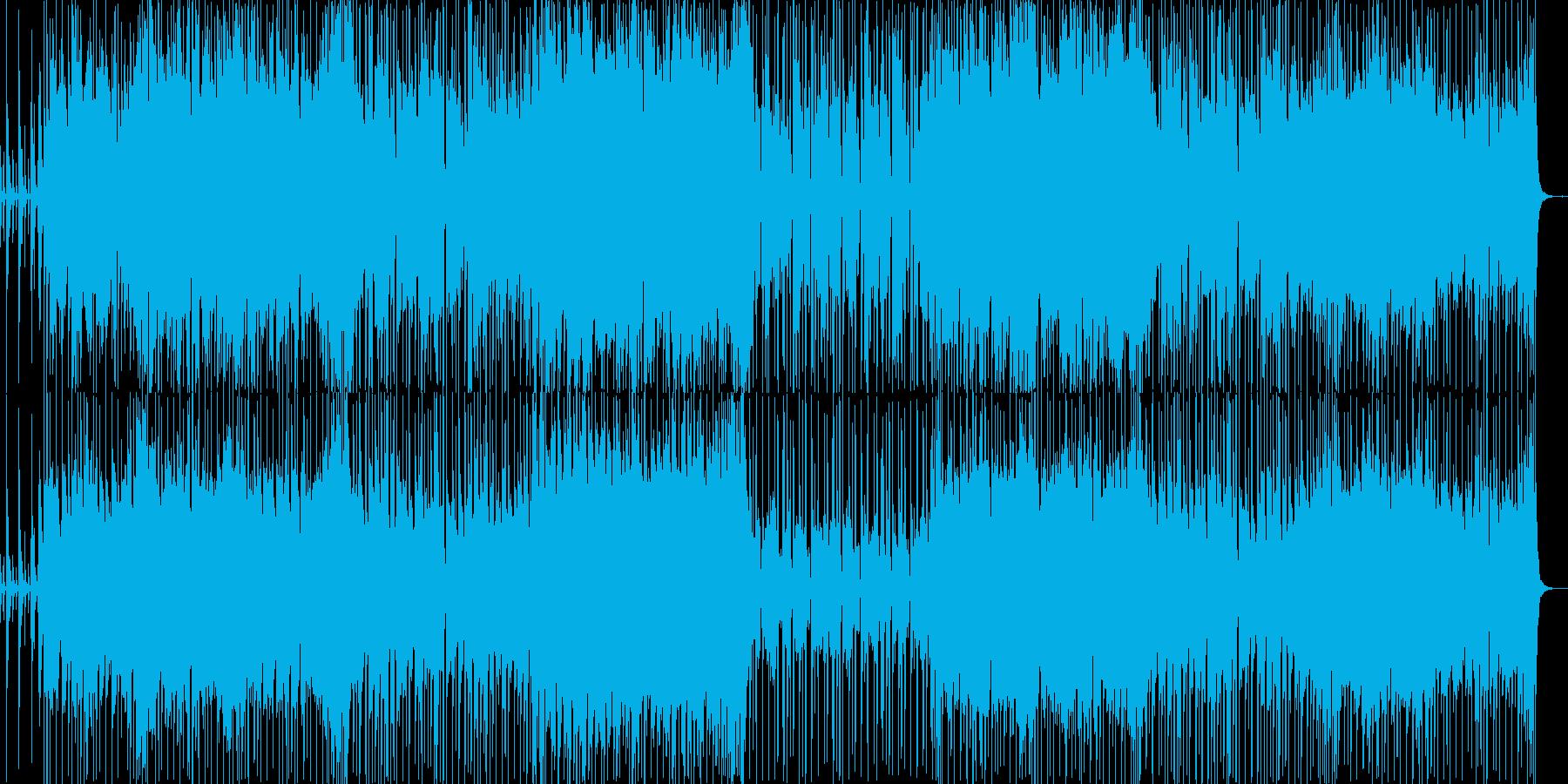 切なく不思議な感じのBGMの再生済みの波形