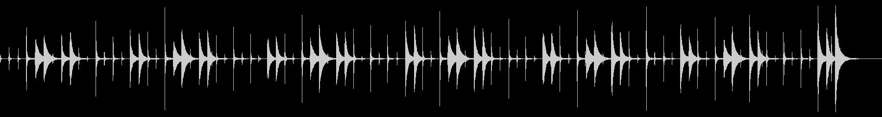 ラテン時計仕掛けパーカッショングロ...の未再生の波形