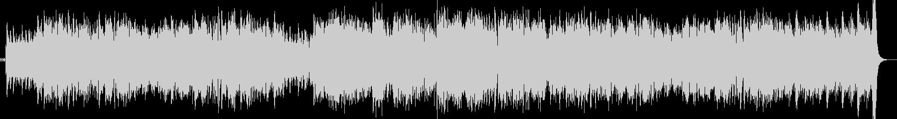 スタイリッシュ ジャズ アップテンポの未再生の波形