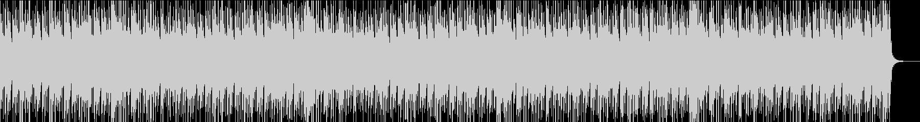 動画にぴったりなほのぼの日常系BGMの未再生の波形