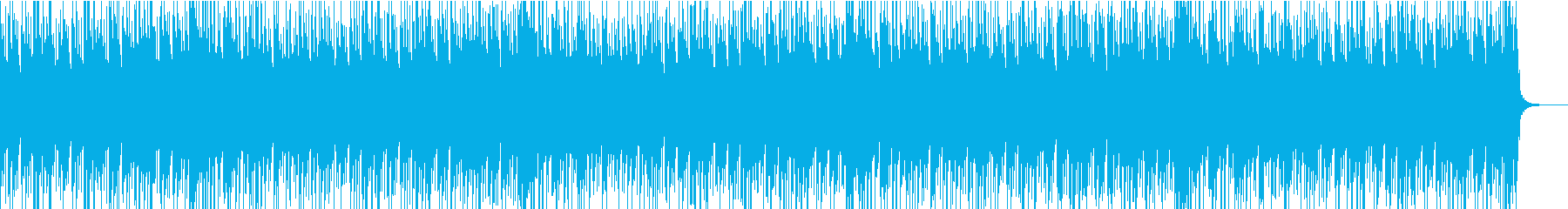 動画にぴったりなほのぼの日常系BGMの再生済みの波形