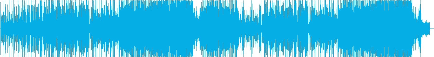 お洒落なテクノポップの再生済みの波形