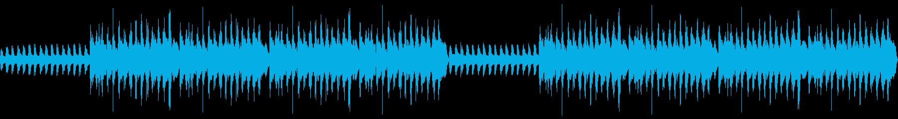 劇伴・コミカルなBGM:3の再生済みの波形