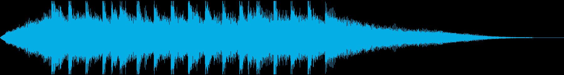 15秒B企業VP,コーポレート,元気の再生済みの波形