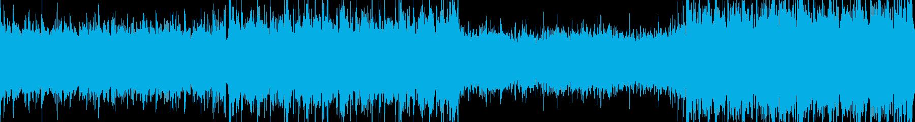 【ループ】ハイテンポで緊迫感あるバトル2の再生済みの波形