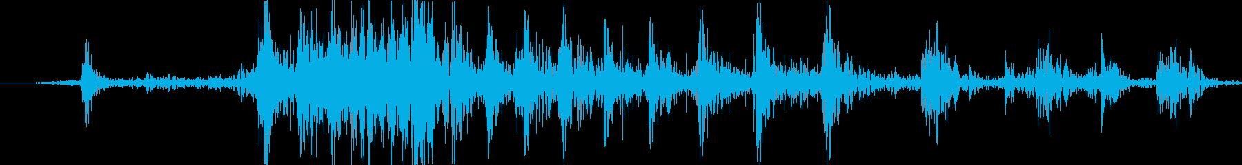 ガス芝生トリマー:誤スタート、シン...の再生済みの波形