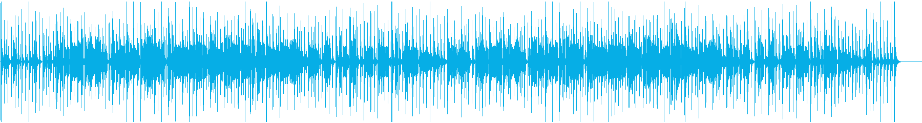 まぬけな音楽 ふざけた感じ 下手な演奏2の再生済みの波形