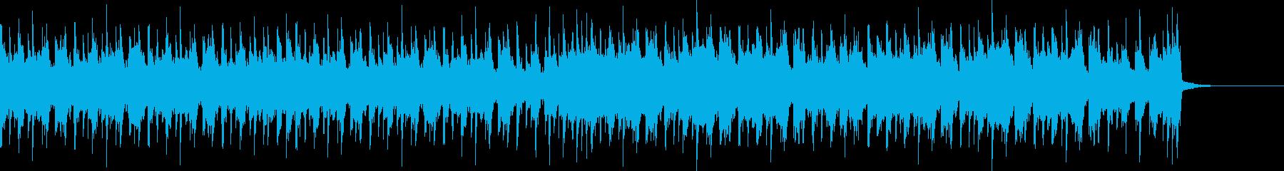 和風エキサイティングEDM・エンディングの再生済みの波形