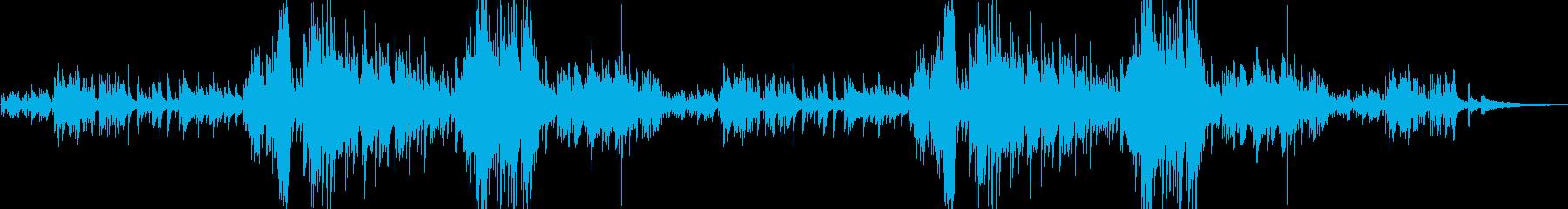 美しき癒しのピアノソロバラードの再生済みの波形