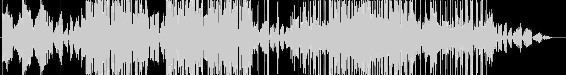 ディープな都会系サウンドのHIPHOPの未再生の波形