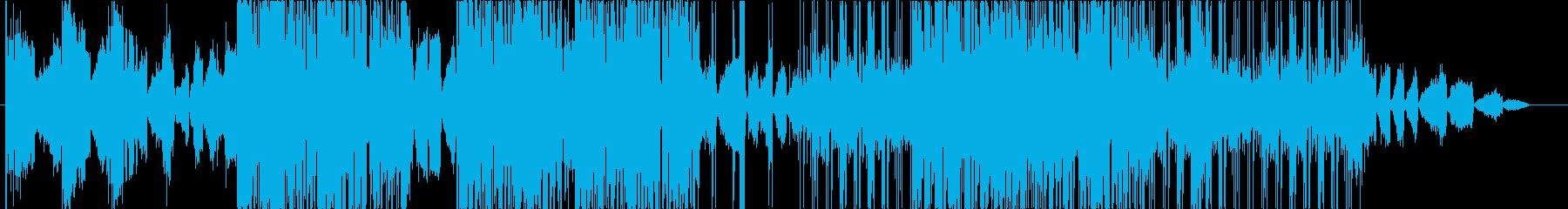 ディープな都会系サウンドのHIPHOPの再生済みの波形