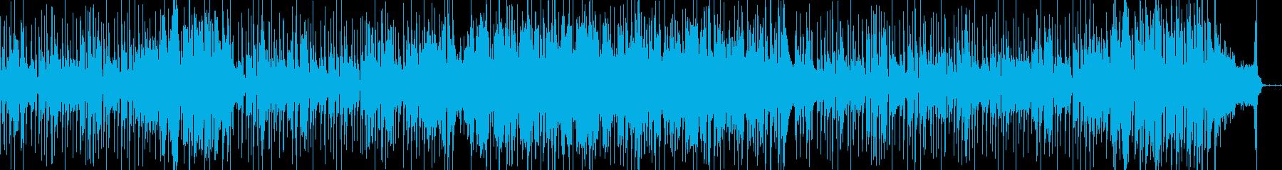 オシャレな弦楽器のシティポップの再生済みの波形