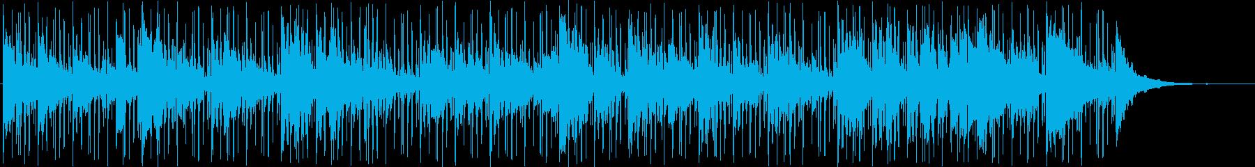 ムーディーでブルージーなインストゥ...の再生済みの波形