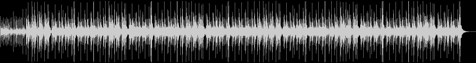 弾ける音の連鎖の未再生の波形