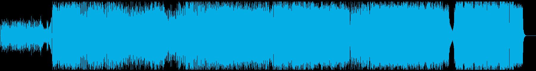 和風で疾走感のある轟音ロックですの再生済みの波形