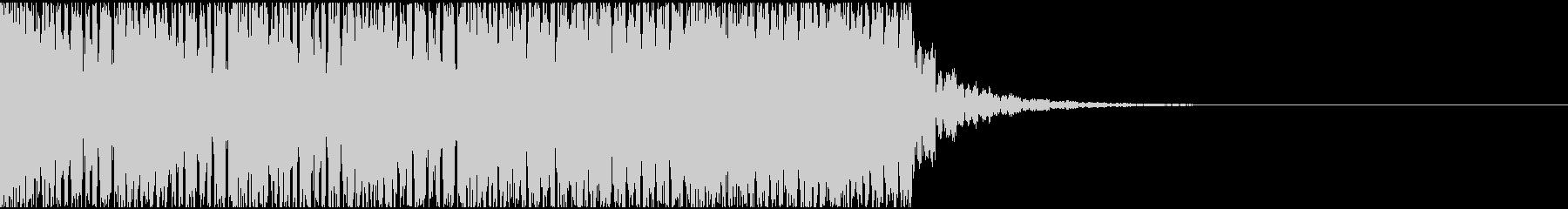 【EDM】約20秒、ジングル5の未再生の波形