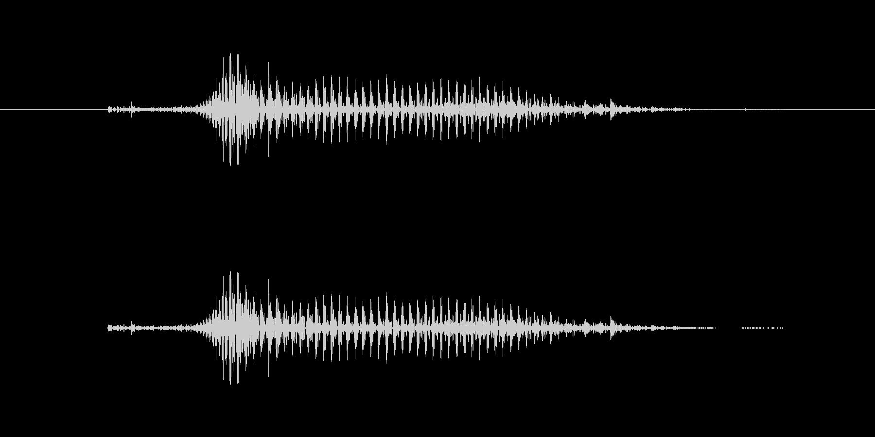 【子供の戦闘ボイス】きゃっ(軽ダメージ)の未再生の波形