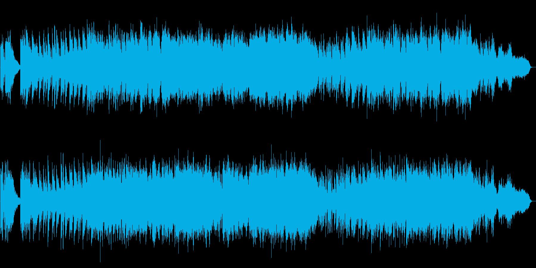 明るくほのぼのピアノと弦楽五重奏の小品の再生済みの波形
